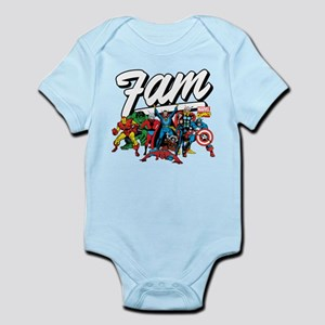 Marvel Comics Fam Baby Light Bodysuit