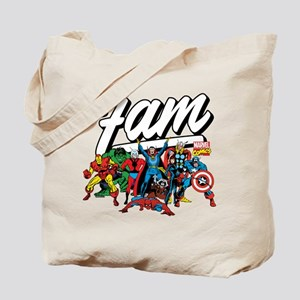 Marvel Comics Fam Tote Bag