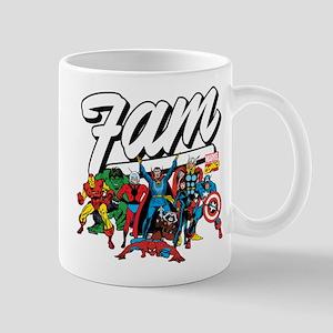 Marvel Comics Fam 11 oz Ceramic Mug