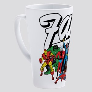 Marvel Comics Fam 17 oz Latte Mug