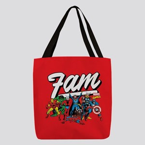 Marvel Comics Fam Polyester Tote Bag