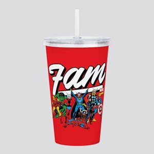 Marvel Comics Fam Acrylic Double-wall Tumbler