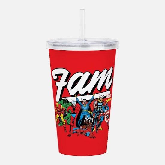Marvel Comics Fam Acrylic Double-wall Tumbler