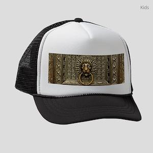 Doorknocker Lion Brass Kids Trucker hat