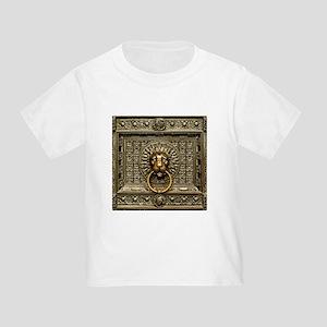 Doorknocker Lion Brass Toddler T-Shirt
