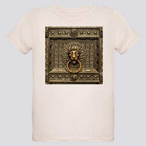 Doorknocker Lion Brass Organic Kids T-Shirt
