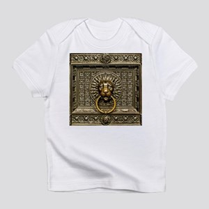 Doorknocker Lion Brass Infant T-Shirt