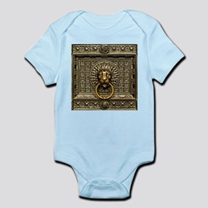 Doorknocker Lion Brass Baby Light Bodysuit