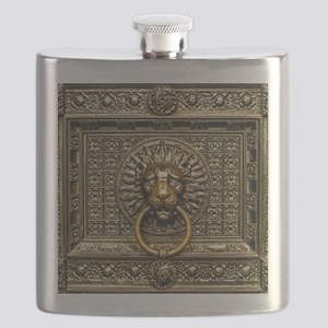 Doorknocker Lion Brass Flask