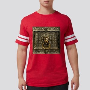 Doorknocker Lion Brass Mens Football Shirt