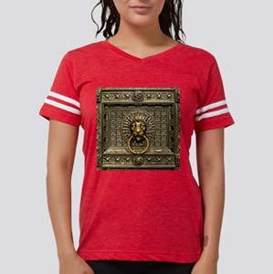 Doorknocker Lion Brass Womens Football Shirt