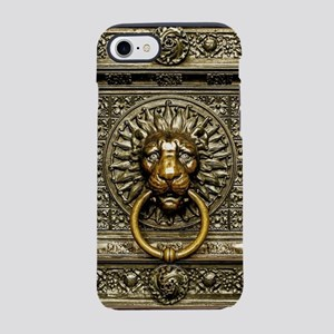 Doorknocker Lion Brass iPhone 8/7 Tough Case