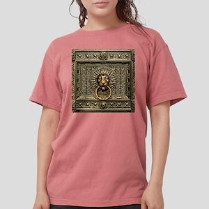 Doorknocker Lion Brass Womens Comfort Colors Shirt