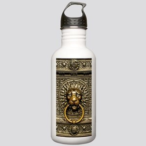 Doorknocker Lion Brass Stainless Water Bottle 1.0L