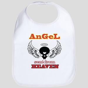 angel  2 Baby Bib