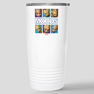 GOTG Groot Moods 16 oz Stainless Steel Travel Mug
