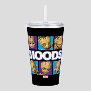 GOTG Groot Moods Acrylic Double-wall Tumbler