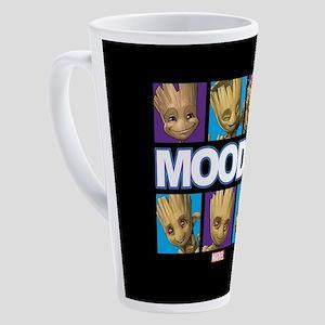 GOTG Groot Moods 17 oz Latte Mug