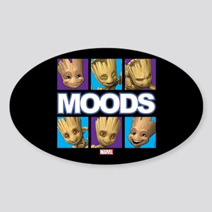GOTG Groot Moods Sticker (Oval)