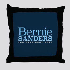 Bernie Sanders 2020 Throw Pillow