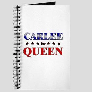 CARLEE for queen Journal