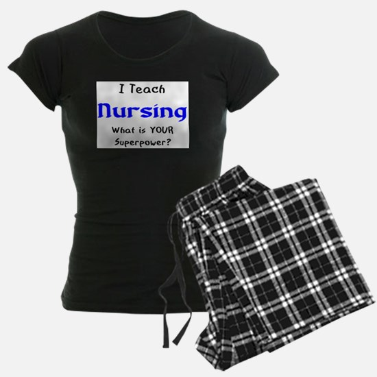 teach nursing Pajamas