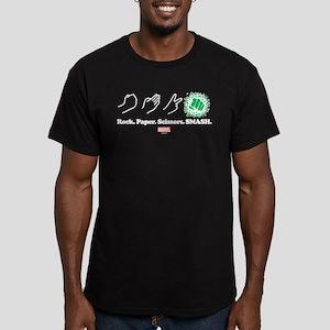 Hulk Smash Men's Fitted T-Shirt (dark)