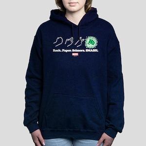 Hulk Smash Women's Hooded Sweatshirt