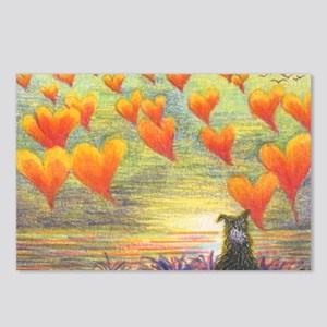 Thinking of You (with love) Postcards (Package of