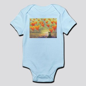 Thinking of You (with love) Infant Bodysuit