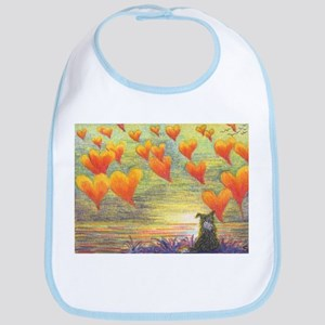 Thinking of You (with love) Bib