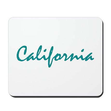 California Ocean Mousepad