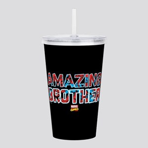 Spider-Man Brother Acrylic Double-wall Tumbler