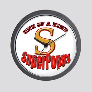 click to view SuperPoppy Wall Clock