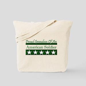Grandson of American Soldier Tote Bag