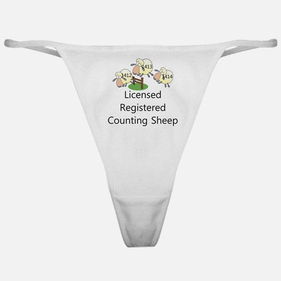 Counting Sheep Classic Thong