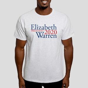 Elizabeth Warren 2020 Light T-Shirt