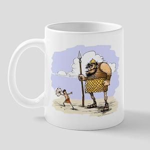 David & Goliath Mug
