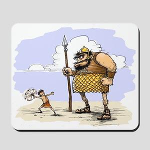 David & Goliath Mousepad