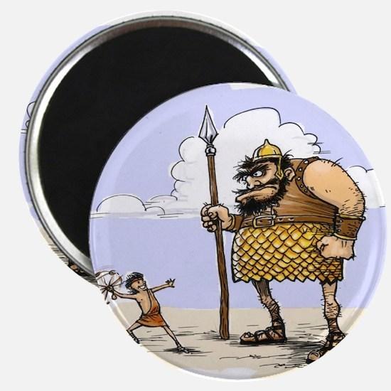 David & Goliath Magnet