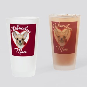 Chihuahua Mom Drinking Glass