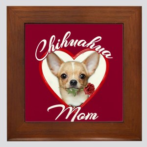Chihuahua Mom Framed Tile