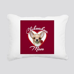Chihuahua Mom Rectangular Canvas Pillow