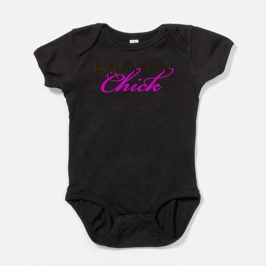 Dirt Track Chick Infant Bodysuit Body Suit