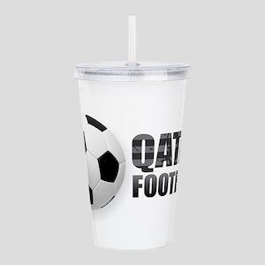 Qatar Football Acrylic Double-wall Tumbler