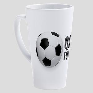 Qatar Football 17 oz Latte Mug
