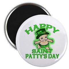 Happy St Pattys Day Kewpie Magnet