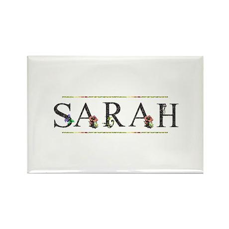 Sarah Rectangle Magnet