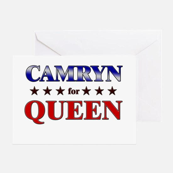 CAMRYN for queen Greeting Card