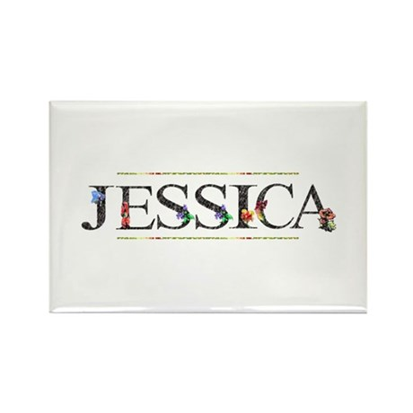 Jessica Rectangle Magnet